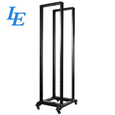 SPCC Material Open Rack 19 Inner Cabinet 400KG Loading Capacity CE / ROHS